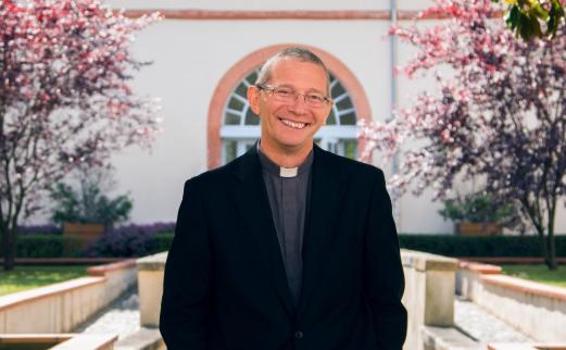 Recteur Père Christian Delarbre